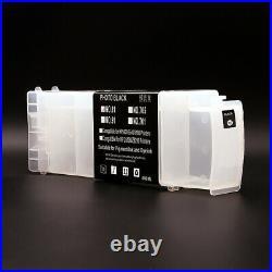 6Pcs/Set 800ML/PC For HP 91 Empty Ink Cartridges For HP Designjet Z6200 5500ps