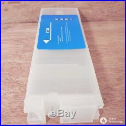 700ML Empty Refillable Ink Cartridge With Chip For Epson Surecolor F2000 F2100