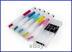 700ML Empty Refillable ink cartridge for Fujifilm DL650 printer 6colors/set