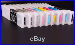 700ml Empty Refillable Ink Cartridge With Chip For Epson P6000 P7000 P8000 P9000