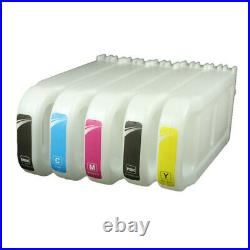 8Pcs/Set For Canon IPF 57 Refill Ink Cartridges For Canon Pro 520 540 540s 560s