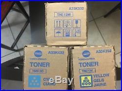 Bizhub Tn512c Tn512m Tn512y Toner Cartridge Cym