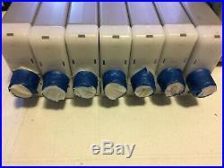Canon Ipf 9000 Set of 12 Ink Tanks Genuine Canon, + 12 Extra Empty Ink Tanks
