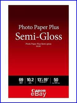 Canon Photo Paper 13x19 100 Pro Luster-200 Plus Semi Gloss-50 Pro Premium Matte