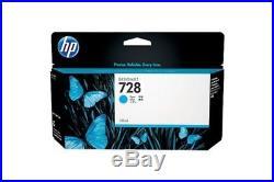 Cartouche HP F9K17A n°728 Cyan F9K17A