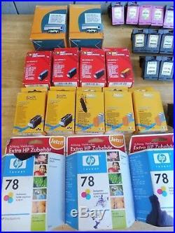 Convolute Ink Cartridges, HP 950, HP-951, HP300, HP78 Total 98 Piece, Empty