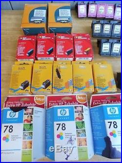 Convolute Ink Cartridges HP 950, HP-951, HP300, HP78 Total 98 Pieces Empty