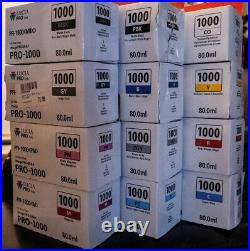 EMPTY CANON CARTS Color PFI-1000 Ink Cartridge CANON PRO 1000