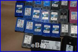 EMPTY LOT of 49 HP INKJET CARTRIDGES 21 22 61 934 562 950 951 952 1 Day Sale