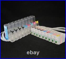 EMPTY PIG SUB CISS Refillable Cartridge ink system for SureColor SC P600 Printer