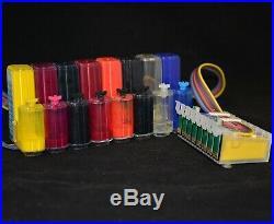 EMPTY / Pigment / Dye CISS ink system for Epson Stylus R1900 Printer C