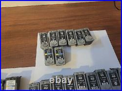 EMPTY VIRGIN LOT of 69 CANON INK CARTRIDGES 210 211 240 241 245 246 40 41 30 31