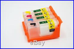 Empty Refillable Cartridges (4 Colors) for Primera LX900/RX900 Fast shipping