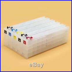 Empty Refillable Ink Cartridge With Chip For EPSON Sure Color T3200 T5200 T7200