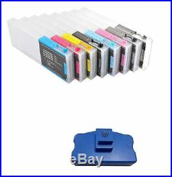 Empty Refilling Ink Cartridge for Epson Stylus Pro 7880 9880 + Chip resetter