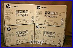 EmptyHP Q5950AC I Q5951AC I Q5952AC I Q5953AC LASERJET Print Toner Cartridge Set