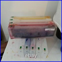 Epson Stylus Pro compatible empty cartridges x 9 7700 9700 7890 9890 7900 9900