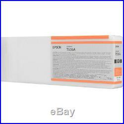 Epson T636A00 Orange UltraChrome HDR Ink Cartridge (700 mL) OEM