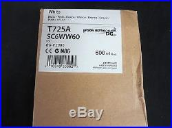 Genuine Epson White Ink Cartridge T725A SC6WW60 Exp 08/2017