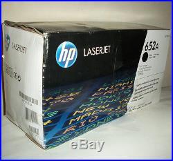 Genuine HP 652A CF320A Black Toner Cartridge Factory Sealed BOX DAMAGE