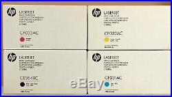 Genuine HP CE264X CF031A CF032A CF033A 646A 646X Cartridges New Sealed Boxes OEM