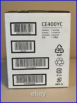 Genuine HP CE400YC (CE400A CE400X) Black 507A High Yield Sealed Box! 2021 OEM