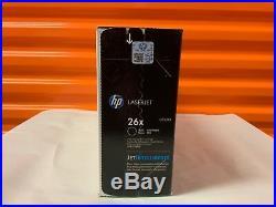 Genuine HP Laserjet Black Toner Cartridge 26x Cf226x For M402, Mfp M426 Sealed