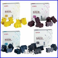 Genuine XEROX Phaser 8860/8860MFP SET Magenta, Cyan, Black, Yellow Solid Ink