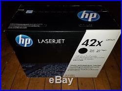 HP 42X Toner Cartridge Black Q5942X NEW SEALED for Laserjet 4250 4350