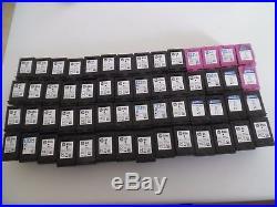 HP 61XL & 61 Black & 3 Color Ink Cartridges EMPTY Lot of 56