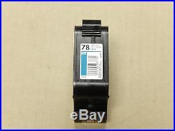 HP 78 C6578DN Tri-Color Genuine Empty Virgin Ink Cartridge Not Refilled Lot 78