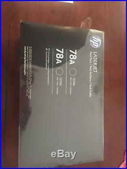 HP 78A Laser Jet Toner Cartridges (Black-2 pack)