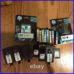 HP 952XL Etc Magenta Black Cyan Yellow Ink Cartridges Lot of 200 Empty Used