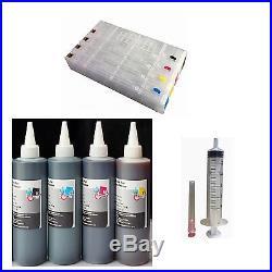 HP 970 971 Pro X451dn X551dw X476dn Refillable Ink Cartridge Plus 4x250ml ink