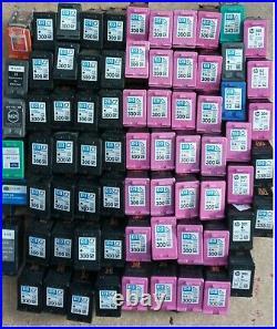HP Empty 300 Job Lot 69 mix Black & Colour Cartridges Virgin