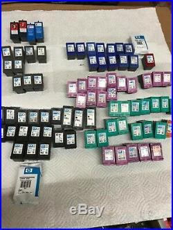 HP Empty Ink Cartridge 21, 22, 27, 74, 22, 28, 60, 60XL, 75, 93, 901 Lot of 82