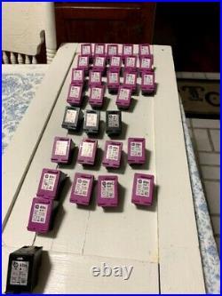 HP Ink Cartridges Empty Virgin31 Total In This Listing