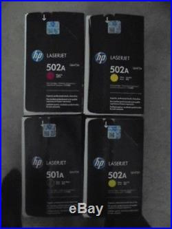 HP Print Cartridge 502A Q6470A Q6472Ax2 Q6473A Toners HP Laserjet 3600