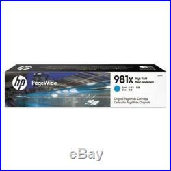 HP pagewide 981x blue cartridge