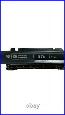 Hp Laserjet 87A Toner Lot Of 10 Empty
