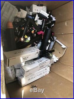 Huge Lot Virgin EMPTY Ink Printer Toner Cartridges Some New 5 Pallets+