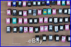 Job Lot X 167 HP Ink & Canon Empty Inkjet Cartridges Original Genuine