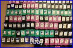 Job Lot X 196 HP Mixed Empty Printer Ink Toner Cartridges For Parts