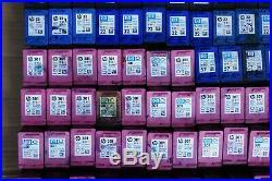 Job Lot X 204 HP Empty Mixed Colour Ink Inkjet Cartridges Original 301 300 22