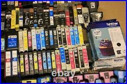 Job Lot X 249 Mixed Empty Printer Ink Toner Cartridges Tesco Asda Wilko Kodak
