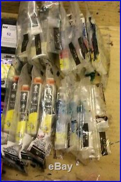 Job Lot X 77 Mixed Empty Printer Ink Toner Cartridges Tesco HP