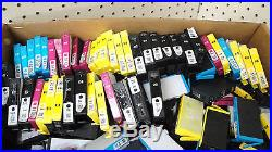 LOT OF 1000 HP 564XL/564 MIXED COLOR INK CARTRIDGE EMPTY/UNTESTED/Genuine