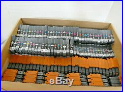 LOT OF 670 CANON # 72 Multi-Color INK CARTRIDGE EMPTY/UNTESTED/GENUINE