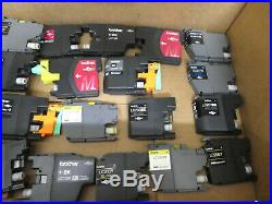 LOT OF 8,400 BROTHER LC-61,75,101,203,201,103,71,75 MIXED INK CARTRIDGE/Genuine