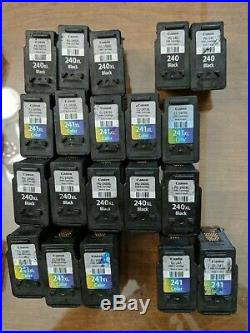 LOT of 20 CANON VIRGIN EMPTY CARTRIDGES PG-240 PG-240XL & CL-241 CL-241XL CB-1